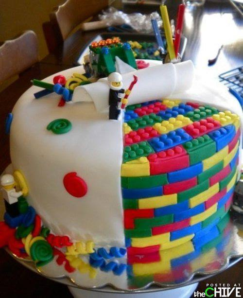 Tough Guy Birthday Cake