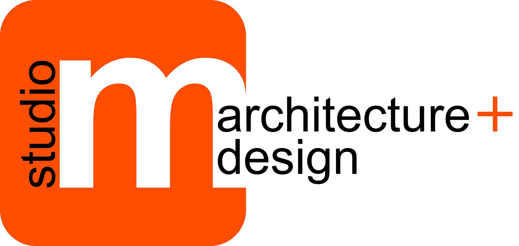 Studio m architecture design design a dad for Architecture logo